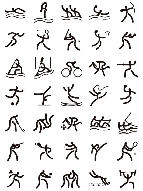 2008 Beijing Olympic Games Pictograms