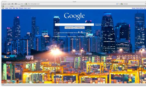 Attractive Googleu0027s Homepage Has Gone All Pictorial This Morning, With A Full Bleed  Image Cluttering Up Their Normally Pristine Page. You Can Change The  Picture, ...