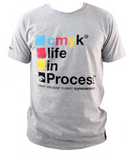 There's their CMYK Process T-shirt up top... watch out, noisy link) have...